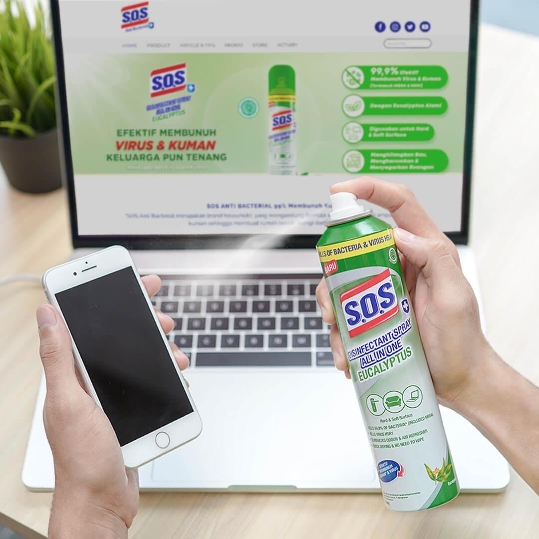 4 Benda yang Wajib Disemprot Disinfektan Spray Sebelum Masuk Rumah