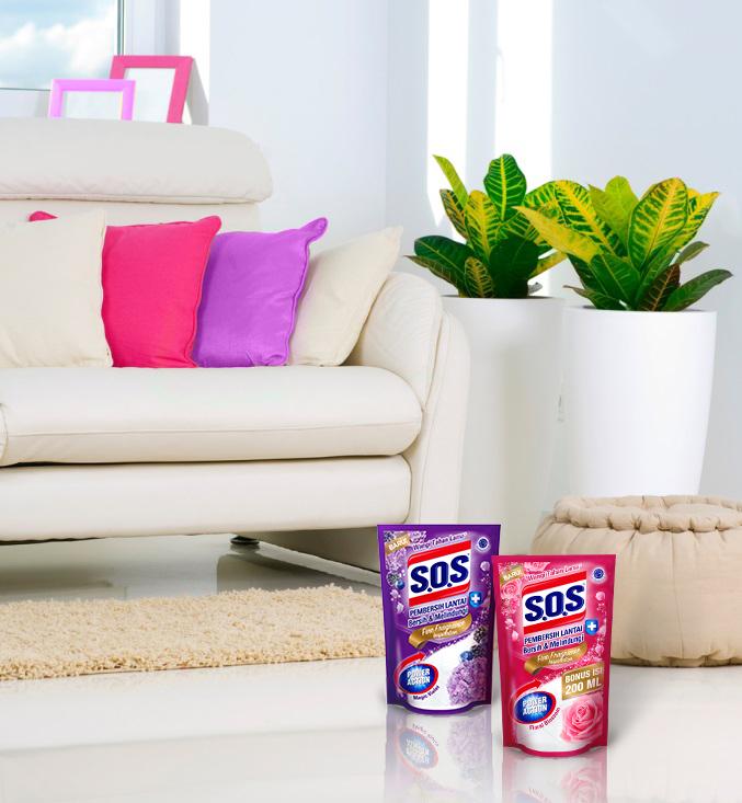 S.O.S Pembersih Lantai Fine Fragrance Pilihan Baru untuk Membersihkan Keramik Rumah