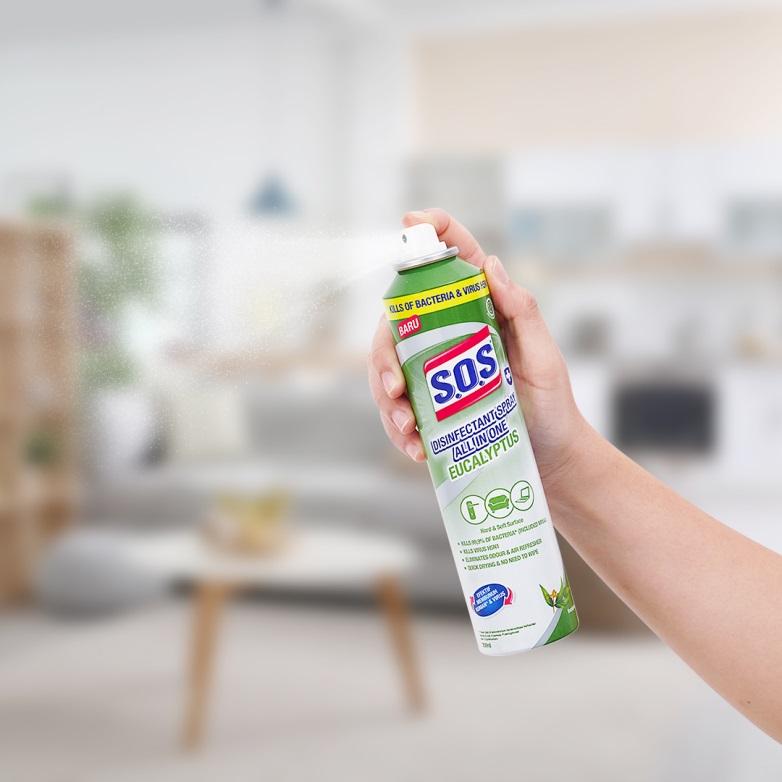 Tips Memaksimalkan Manfaat SOS Disinfectant Spray All In One Eucalyptus untuk Ruangan