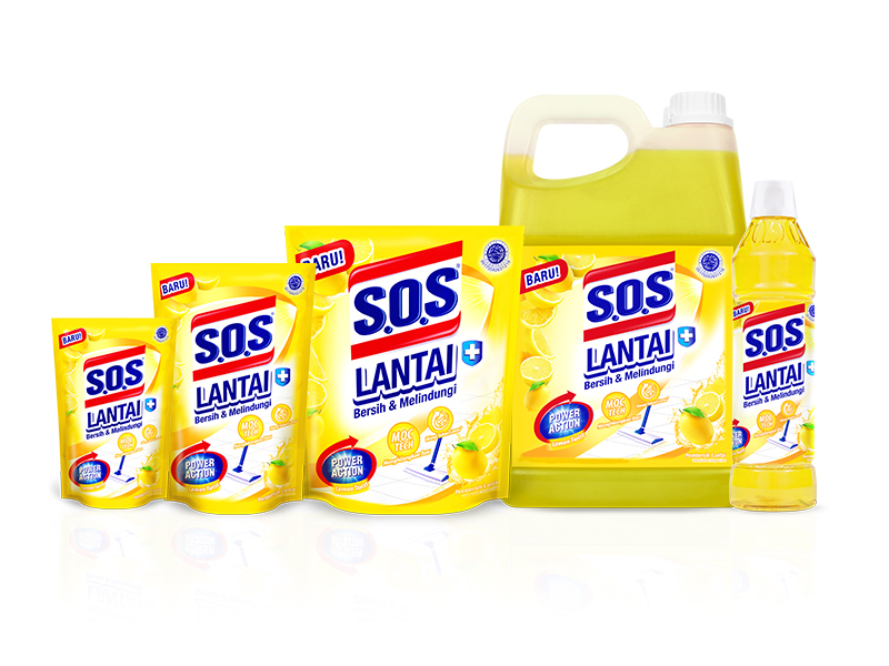 SOS Pembersih Lantai - Lemon Twist