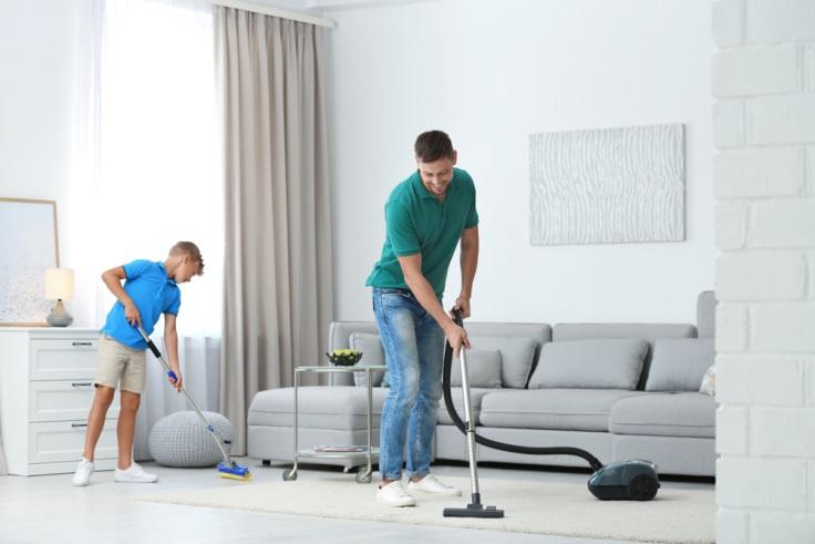 SOS - Cara Membersihkan Lantai Setelah Renovasi Rumah
