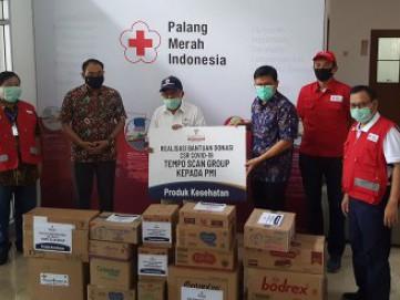 Realisasi Bantuan Donasi CSR COVID-19 Tempo Scan Group Kepada Palang Merah Indonesia