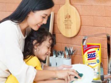 Kenali Manfaat Jahe dalam S.O.S Cairan Pencuci Piring Lemon Ginger