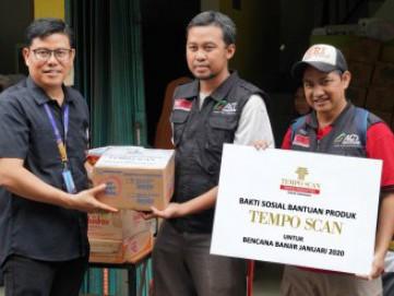 Tempo Scan Group 'Terjun' Bantu Korban Banjir Jakarta 2020